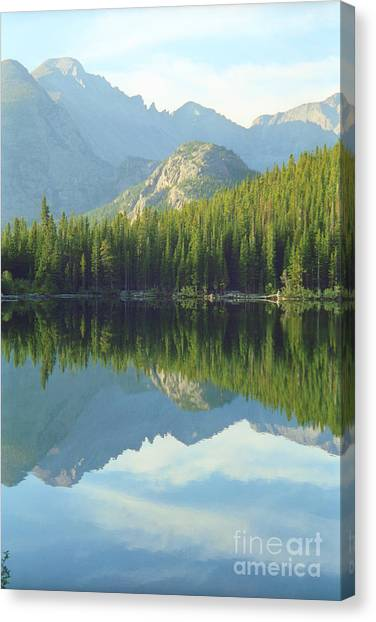 Bear Lake Estes Park Canvas Print