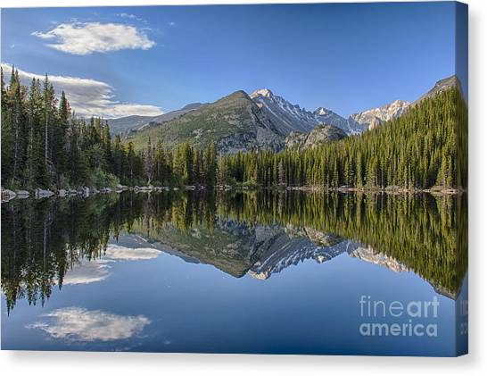 Bear Lake Reflection Canvas Print