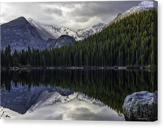 Bear Lake Canvas Print by Tom Wilbert