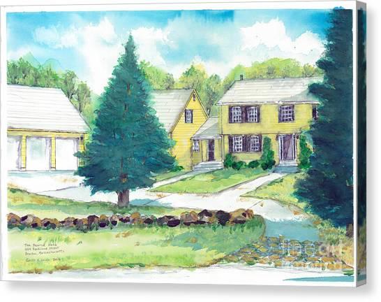 Bearce Home Canvas Print