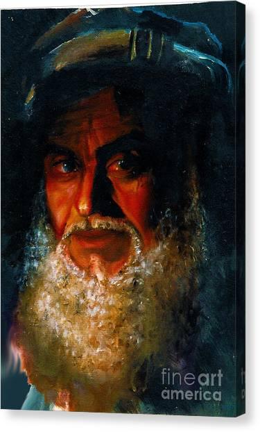 Bearded Man Canvas Print