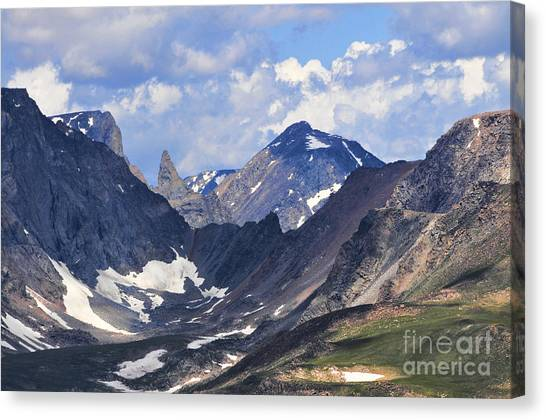 Beartooth Mountain Canvas Print