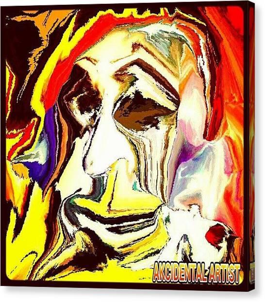 Pop Art Canvas Print - beast Chronicles: Crooner; Ode 2 by Bobby Mori