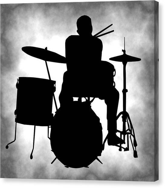Snares Canvas Print - Beat Master by Daniel Hagerman