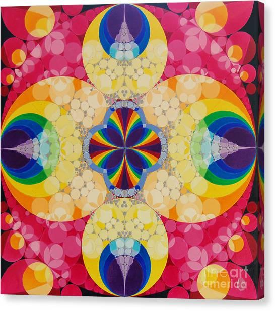 Beatific Canvas Print by Nofirstname Aurora