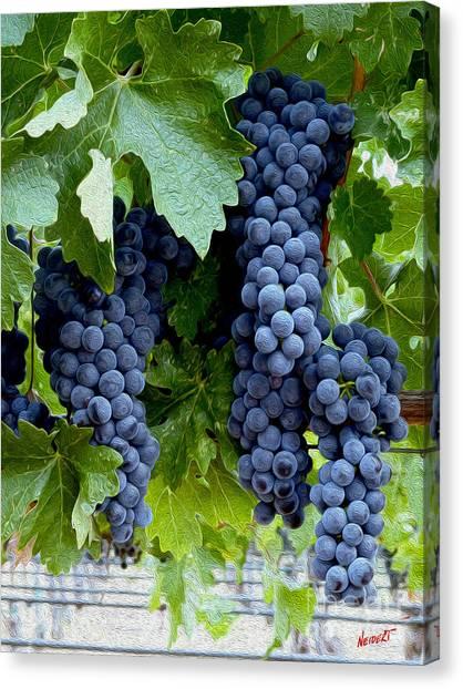 Decanters Canvas Print - Beautiful Fruit by Jon Neidert