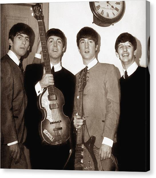 Beatles 1963  Canvas Print by Chris Walter