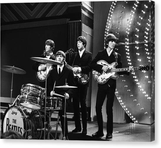 Paul Mccartney Canvas Print - Beatles 1966 by Chris Walter