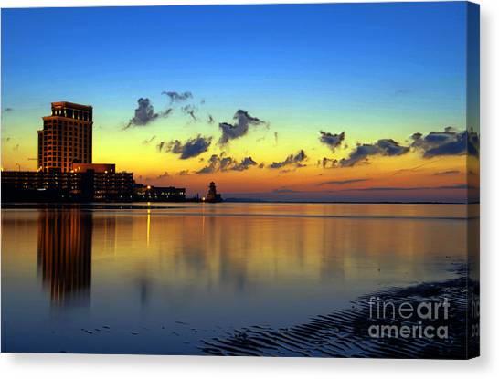Beau Rivage Sunrise Canvas Print