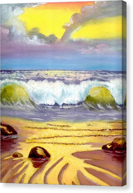 Beautiful Beach Canvas Print