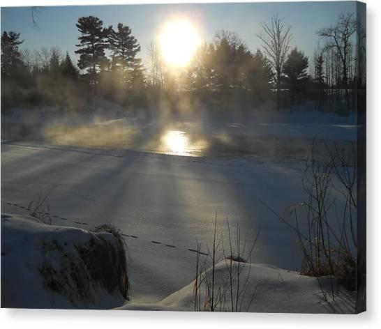 Beautiful Brisk Morning Canvas Print