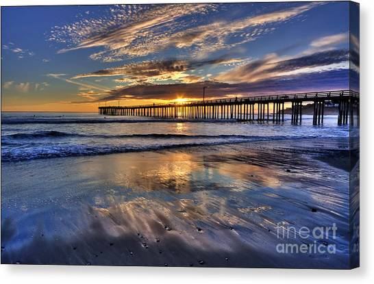 Beautiful Cayucos Canvas Print