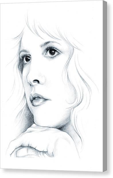 Mac Canvas Print - Beautiful Child by Johanna Pieterman