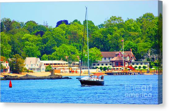 Beautiful Day For Sailing Canvas Print