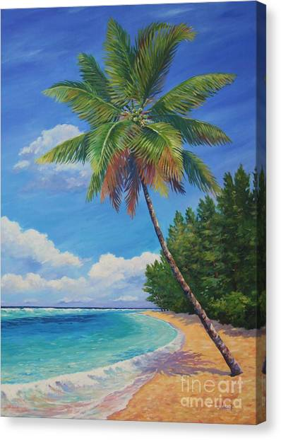 St. Lucia Canvas Print - Beautiful Day by John Clark
