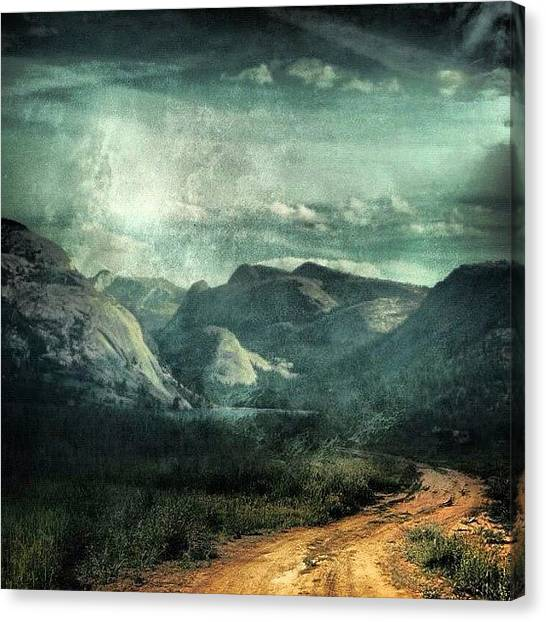 Dirt Road Canvas Print - Beautiful Dirt Road 🚵 by John Williams