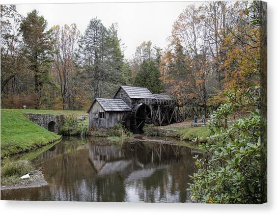 Beautiful Historical Mabry Mill Canvas Print
