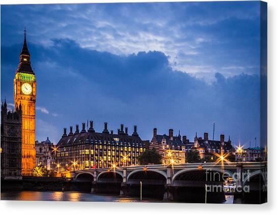 Beautiful London Canvas Print