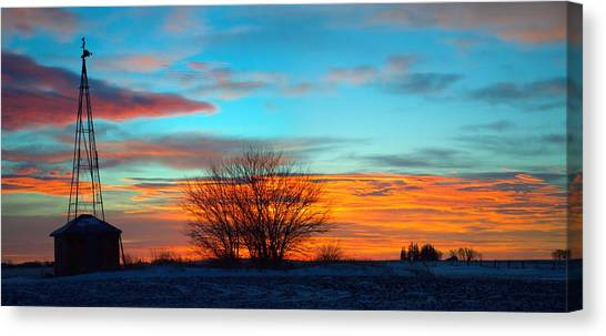 Beautiful Mornin' Panorama Canvas Print