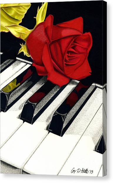 Beautiful Music Canvas Print