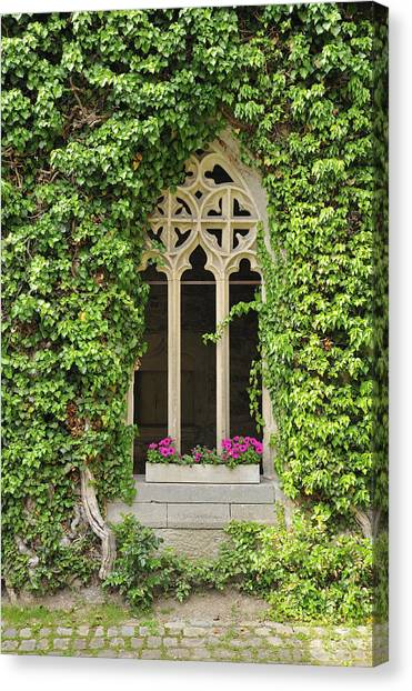 Beautiful Old Window Canvas Print