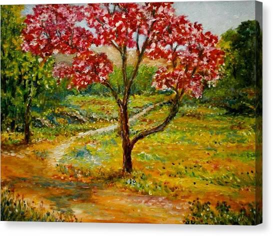 Beautiful Park Canvas Print