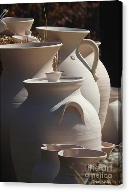 Beautiful Pottery Canvas Print