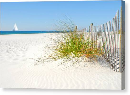 Beautiful Sand Dune Canvas Print by Boon Mee