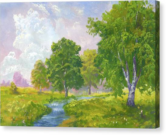 Beautiful Summer Canvas Print
