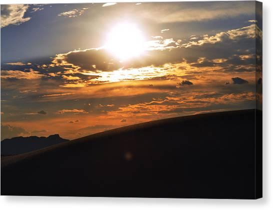 Beautiful Sun Set Canvas Print by Danyele Skeels