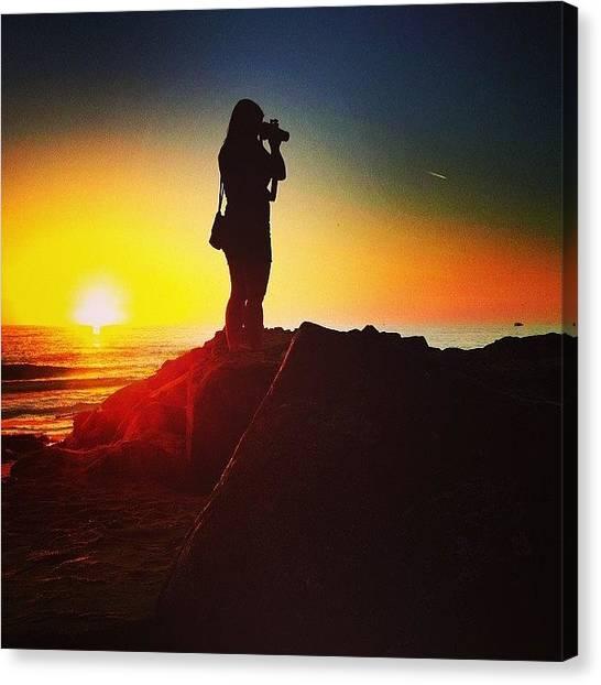 Wine Canvas Print - #beautiful #sun #set #photooftheday by Thewinery Wine