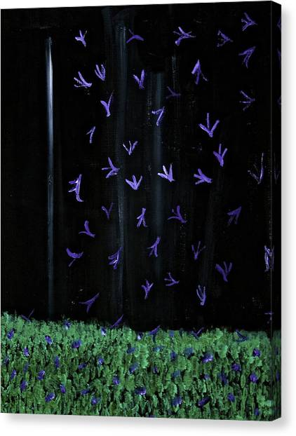 Beautiful Things That Happen At Night Canvas Print