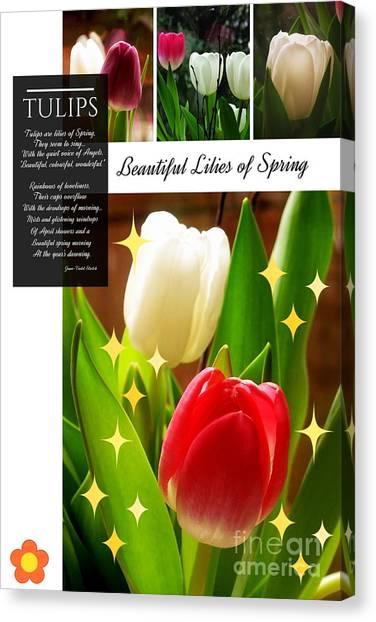 Beautiful Tulip Series 1 Canvas Print