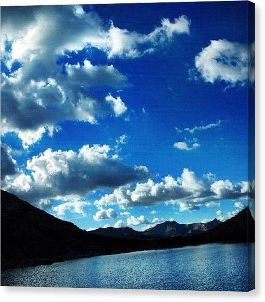 Glaciers Canvas Print - Beautiful View From The Glacier 🗻 by John Williams