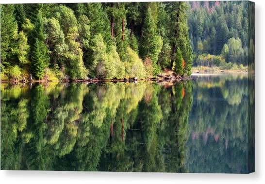 Beautiful Water Canvas Print