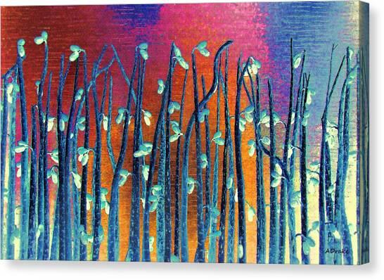 Beautiful Weeds On Venus Canvas Print