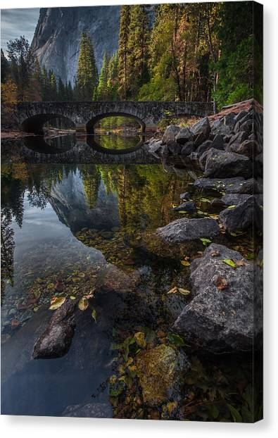 Yosemite Canvas Print - Beautiful Yosemite National Park by Larry Marshall