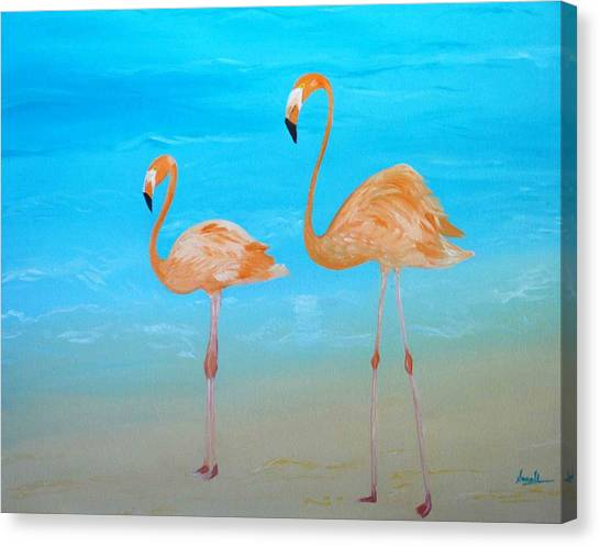 Beauty And Grace Canvas Print