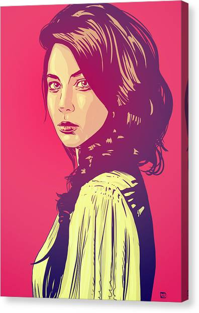 Pop Art Canvas Print - Beauty by Giuseppe Cristiano