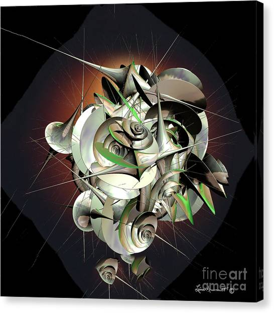 Beauty In Chaos Canvas Print