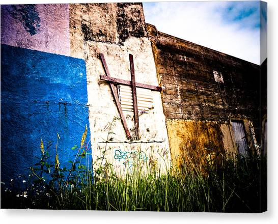 Beauty In Concrete  Canvas Print
