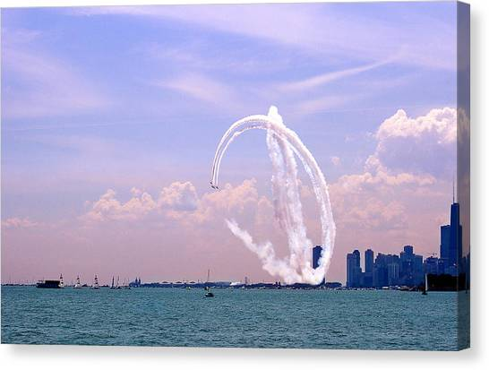 Beauty In The Air Canvas Print