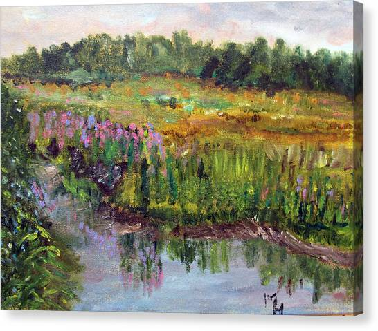 Beauty In The Bog Canvas Print