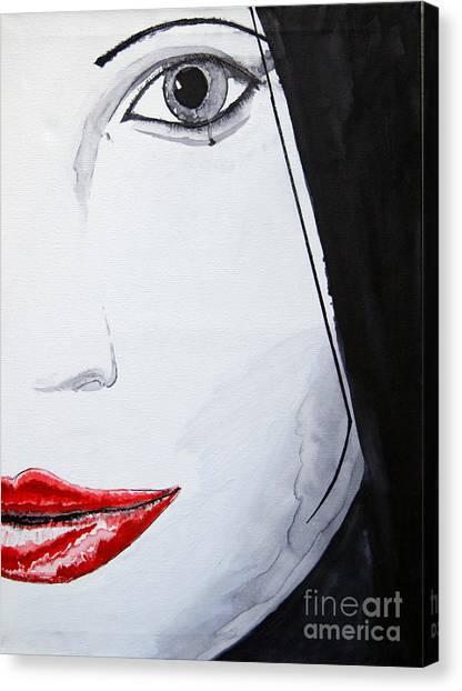 Beauty Canvas Print by Michael Rados