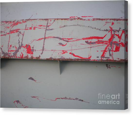 Beauty Of A Dumpster II Canvas Print