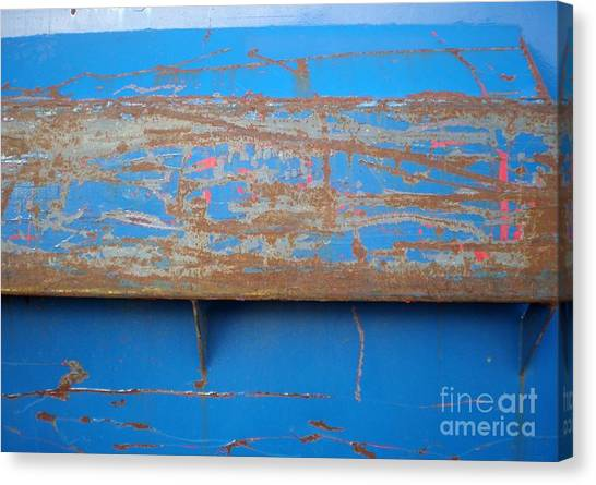 Beauty Of A Dumpster Canvas Print
