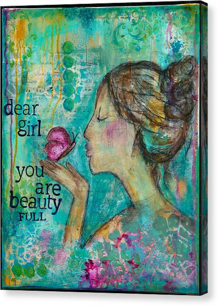 Beautyfull Canvas Print