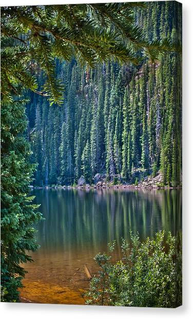 Beaver Lake  Canvas Print