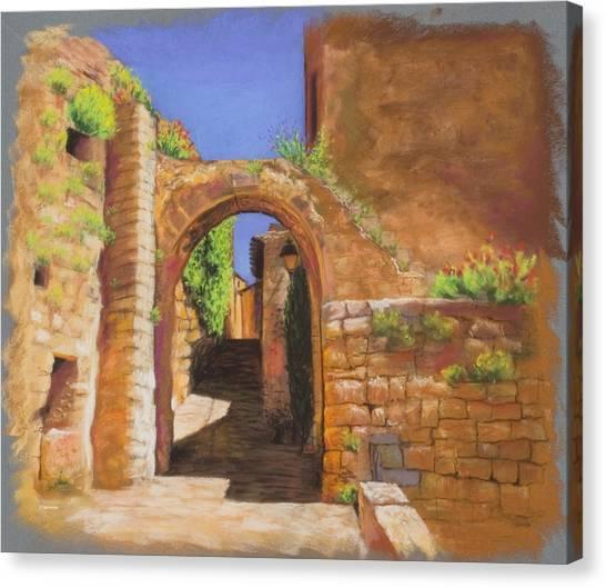 Beckon Canvas Print