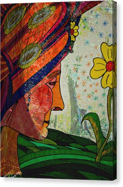 Becoming The Garden - Garden Appreciation Canvas Print